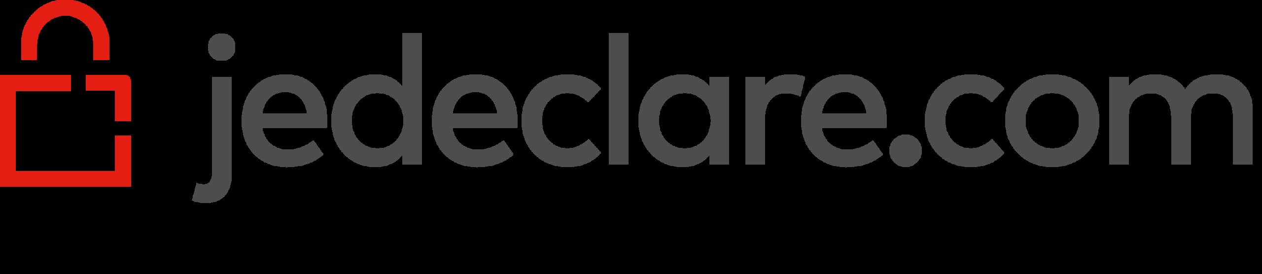 logo jedeclare.com partenaire du cabinet comptable Estelle Fontanès